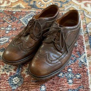 Frye James wingtip shoes